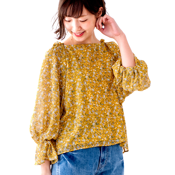 【20%OFF】dolly flower blouse  〜ドーリーフラワーブラウス