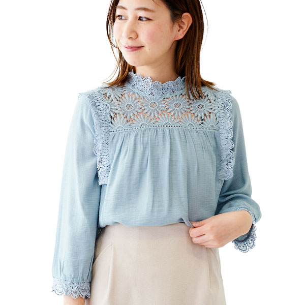 special lace blouse 〜スペシャルレースブラウス