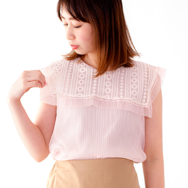 clearness pleats blouse〜クリアニスプリーツブラウス