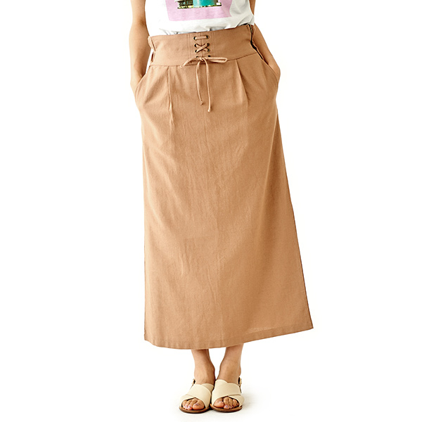 【50%OFF】breeze lace up skirt 〜ブリーズレースアップスカート
