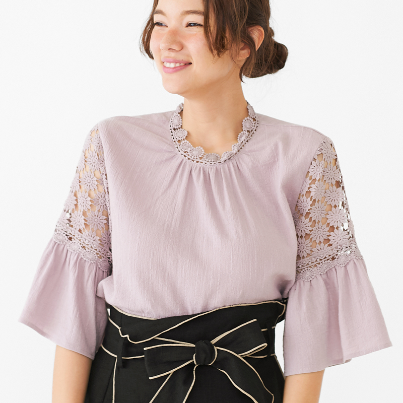 【40%OFF】attractive lace blouse 〜アトラクティブレースブラウス