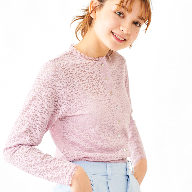 【20%OFF】foggy lace top 〜フォギーレーストップ