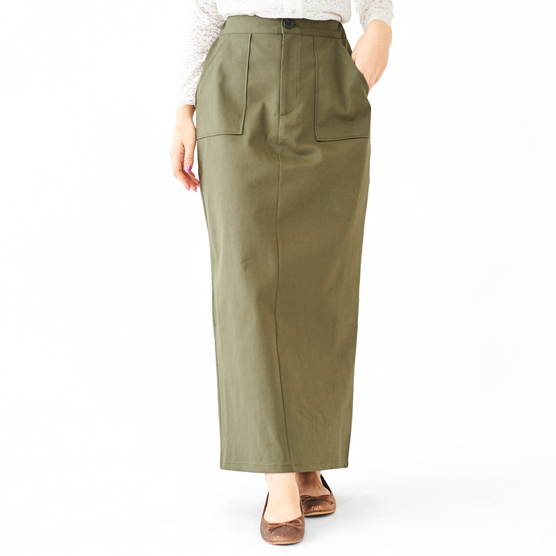 【60%OFF】military tight skirt 〜ミリタリータイトスカート