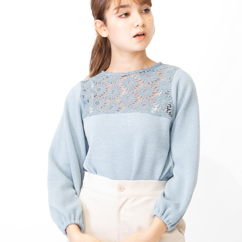 winter flower top 〜ウィンターフラワートップ
