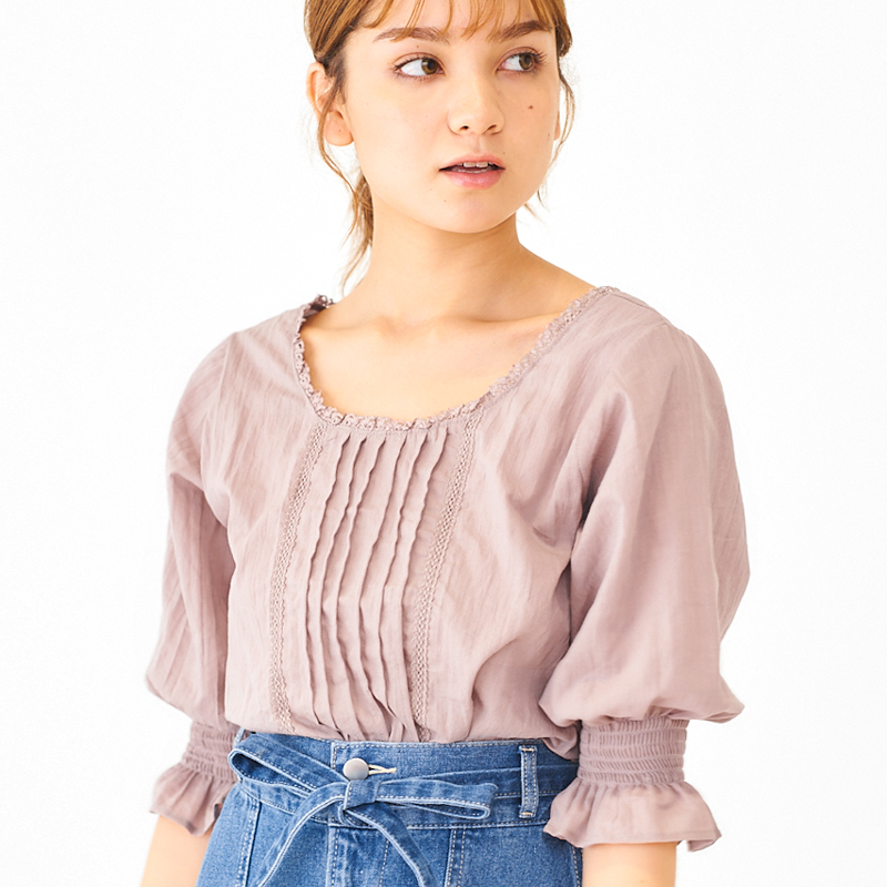 【20%OFF】lady lace blouse 〜レディレースブラウス